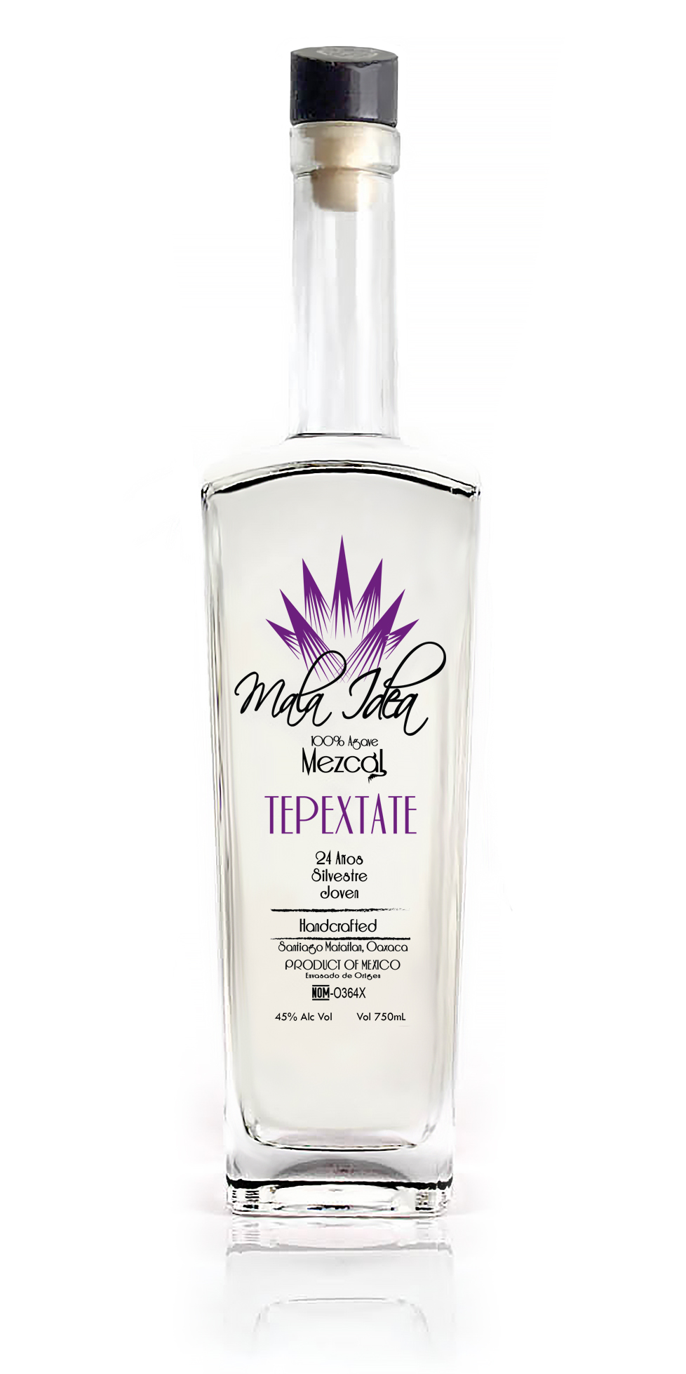 Mezcal Mala Idea Tepextate 24 Years