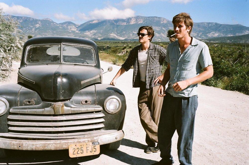 Ur filmatiseringen av  On the Road  från 2012, med Sam Riley, Garrett Hedlund och Kristen Stewart.