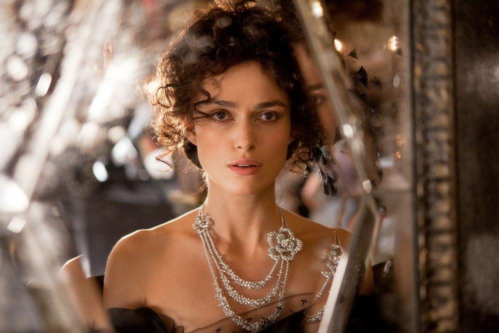 Keira Knightley i filmatiseringen av Anna Karenina från 2012.