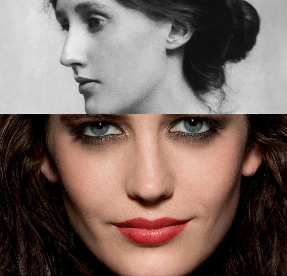 Eva Green spelar Virginia Woolf.