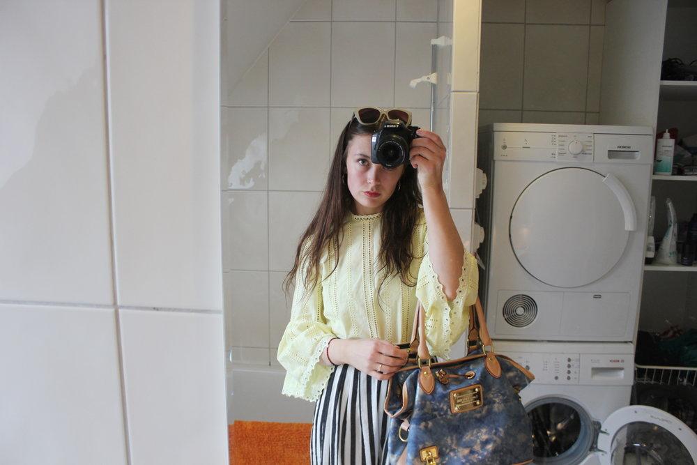 Älskar att klä mig som om jag har koll på hur man ska klä sig.