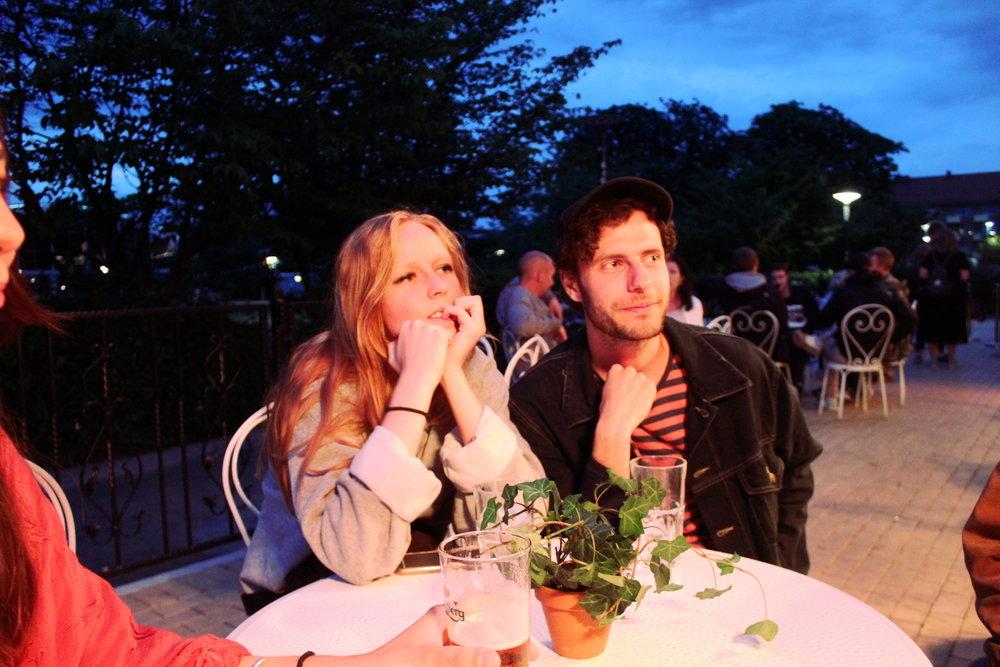 Agnes och Arvid.