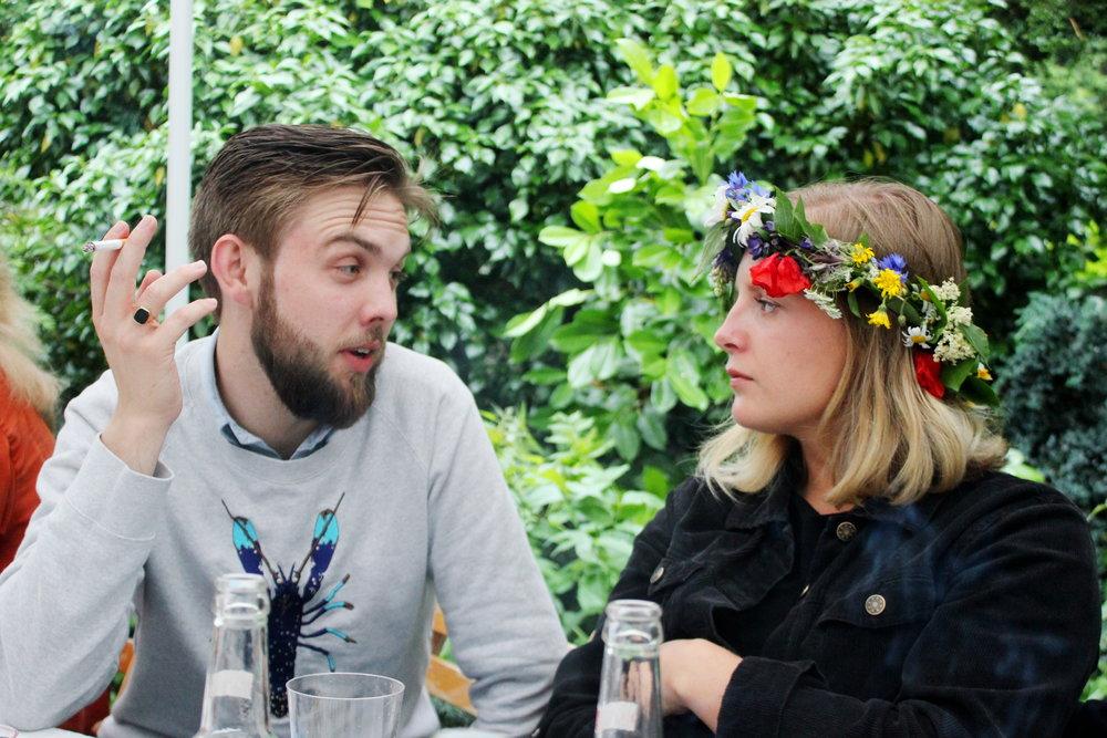 Alex och Lovisa.