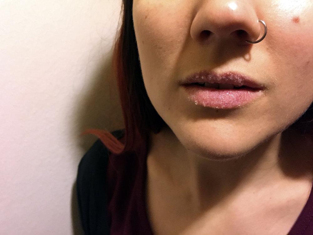 Scrubba läpparna med Sugar Plum Fairy från Lush