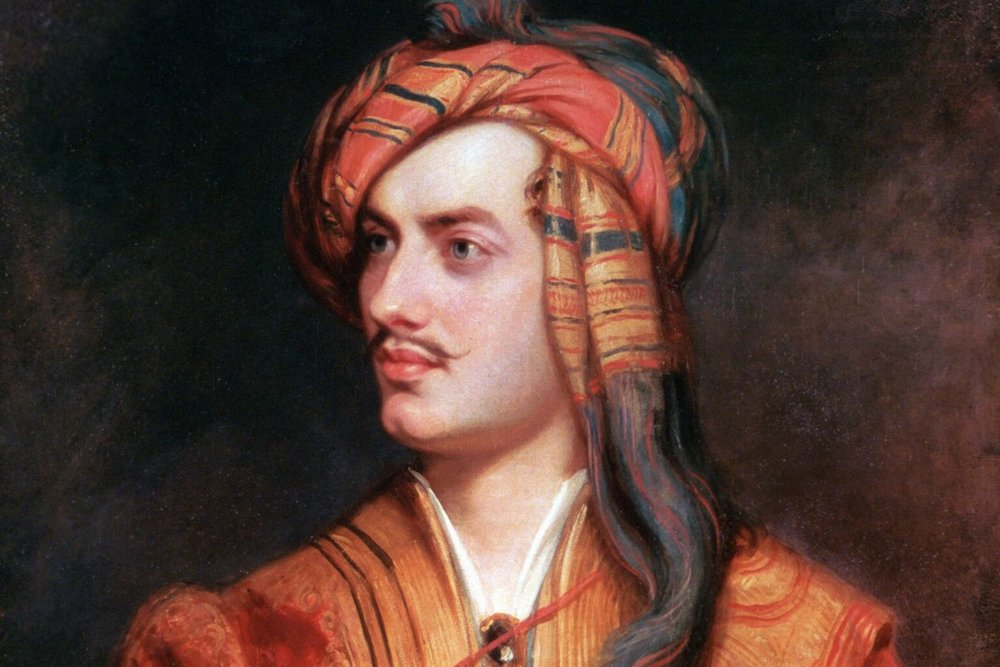 Poeten Lord Byron.