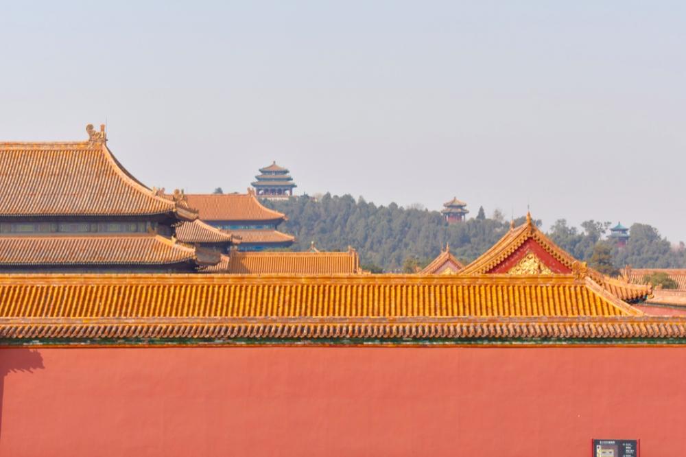 Förbjudna staden i Peking. Foto: Alexandra Andersson