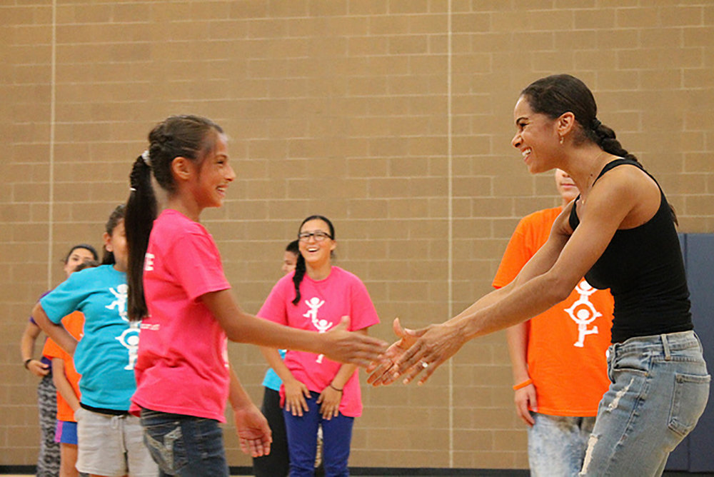 Denver Boys and Girls Club with Misty Copeland