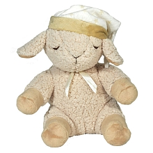 "The Cloud B Sleep Sheep has 8 different noises/melodies, can be set to a timer, and will turn on when noise is detected. My favourite sound is the ""heartbeat"" noise, to mimic mama's soothing and comforting heartbeat."