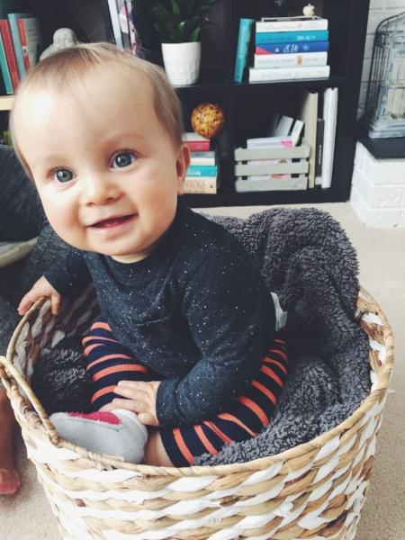 Happy as a clam (in a basket)!