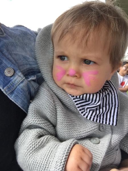 Little bunny at the Children's Festival.