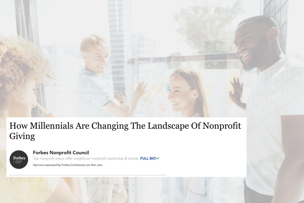 How Millennials Are Changing The Landscape of Nonprofits