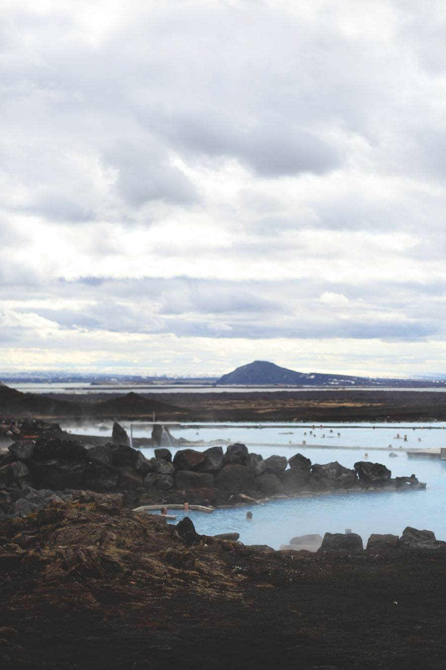 Many jaws were dropped at the Lake Myvatn Nature Baths.