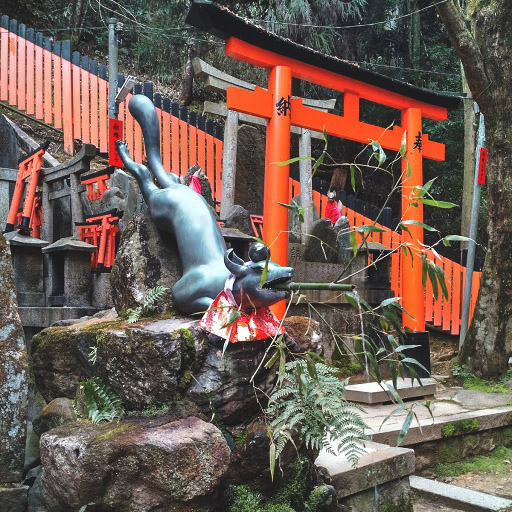 & Away We Went | Inari Shrine | Kyoto, Japan | #Travel