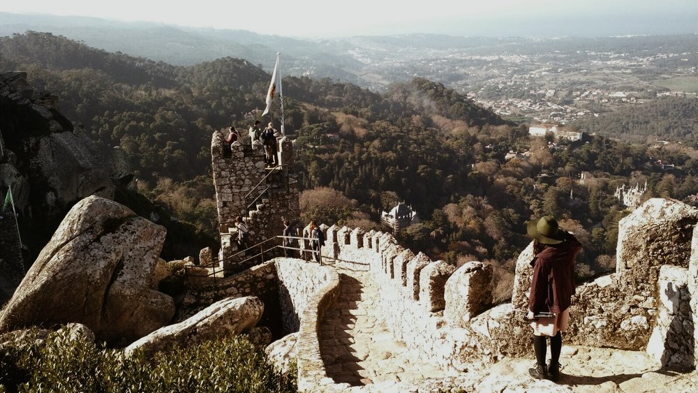 & Away We Went | Castle of the Moors | Sintra, Portugal | Travel Wanderlust