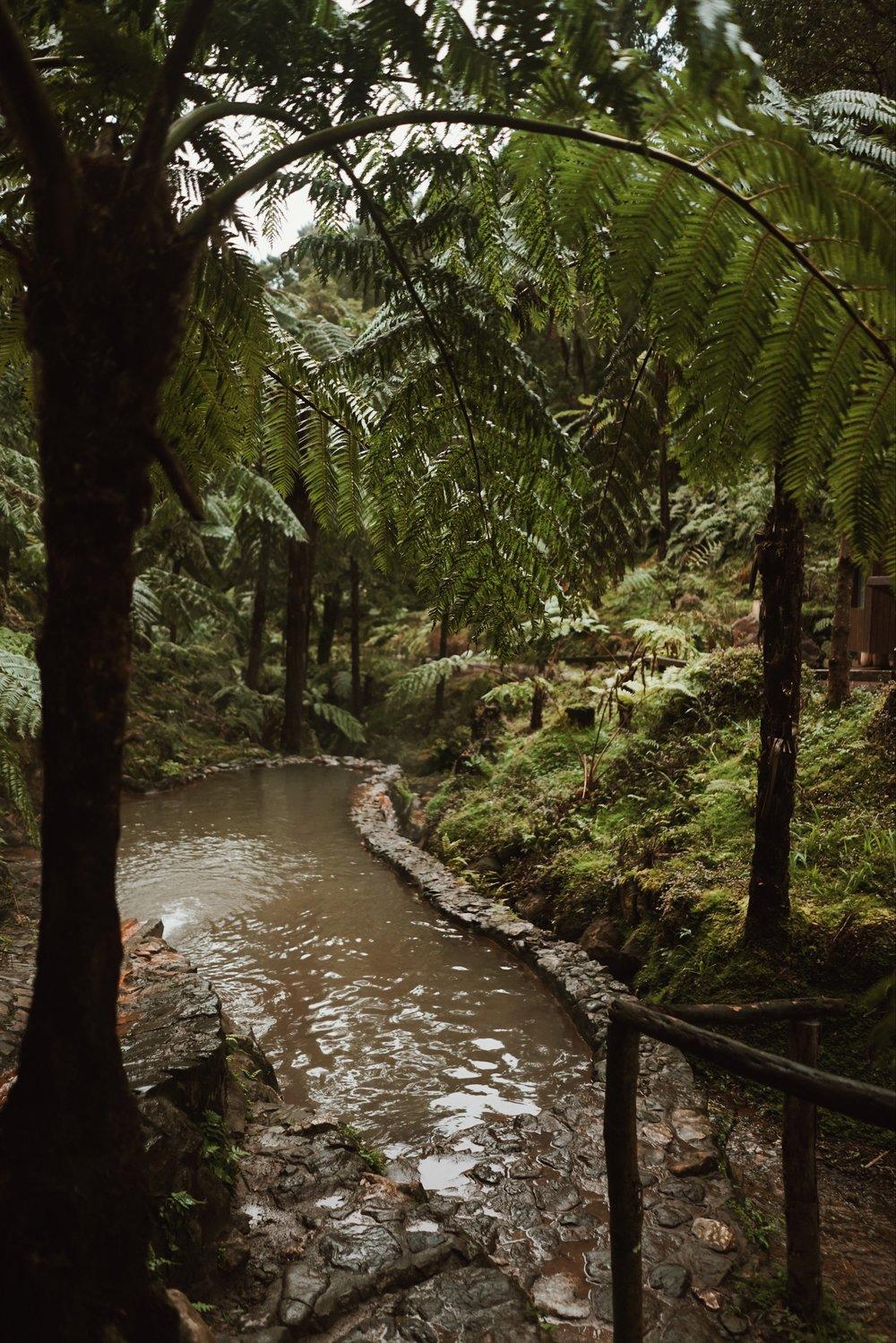 Caldeira Velha Hot Springs | What to do in the Azores | Ponta Delgada | #Travel Blog Wanderlust