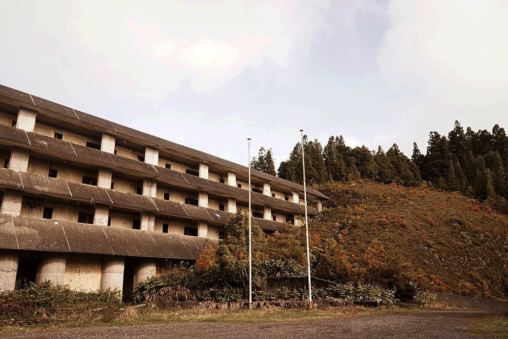 Decaying Ruins of Abandoned Hotel   São Miguel, Azores, Portugal   #Wanderlust Travel Blogger