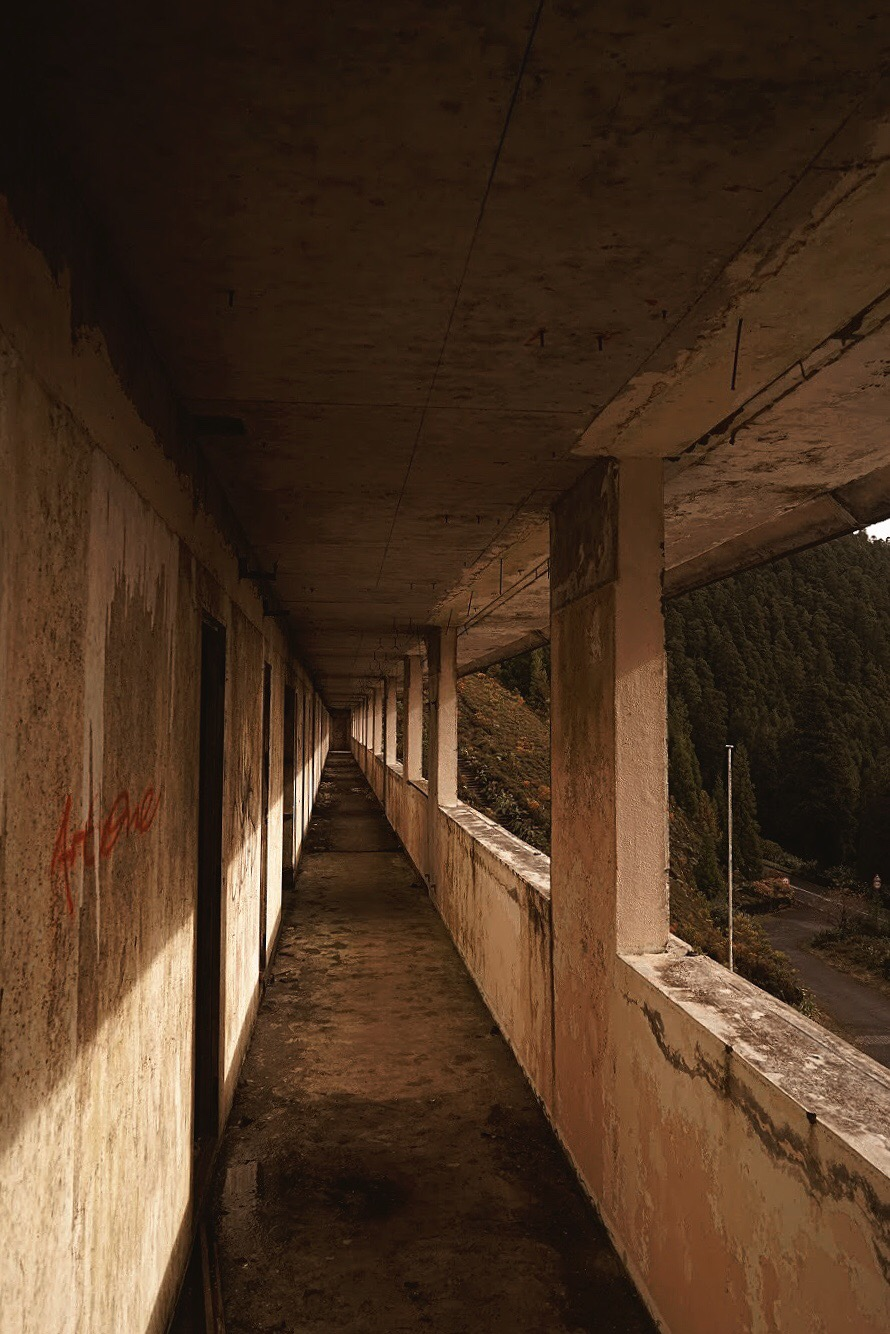 Decaying Ruins of Abandoned Hotel | São Miguel, Azores, Portugal | #Wanderlust Travel Blogger