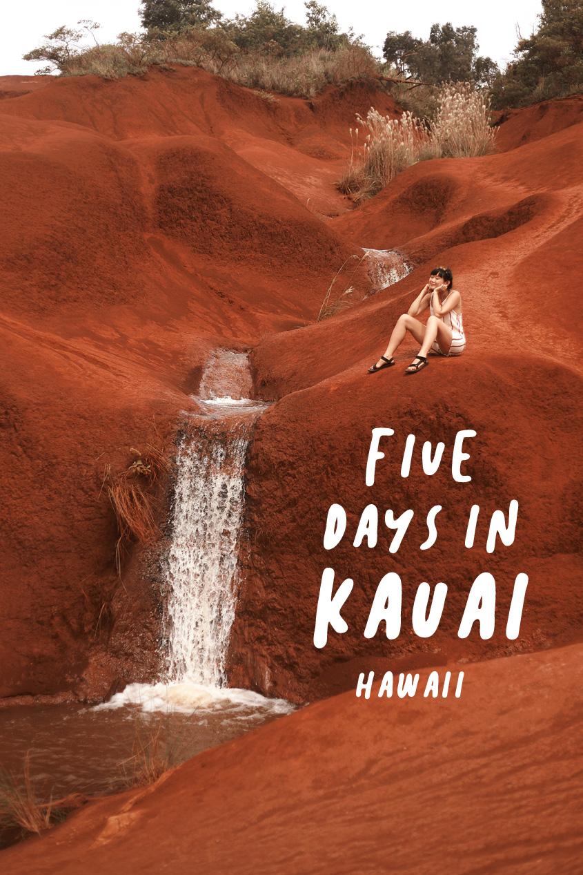 Five Days in Kauai, Hawaii    & Away We Went Travel Blog    Itinerary    Wanderlust Adventure