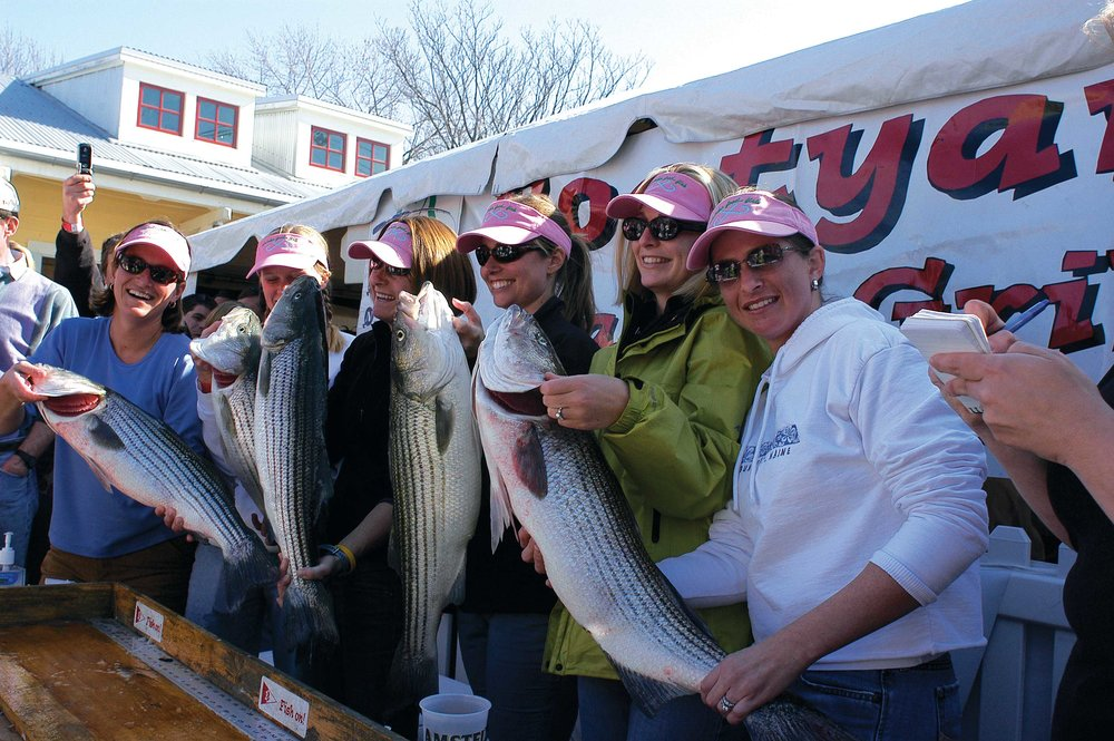 Boatyard Bar & Grill Opening Day Rockfish Tournament