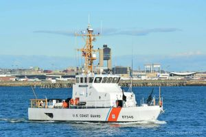 USCG Cutter Flying Fish searched for the boy. Photo: Sean McGrath