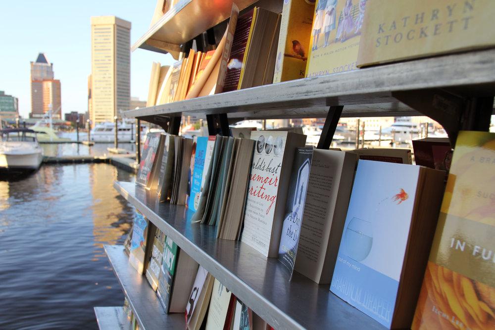baltimore book festival.JPG