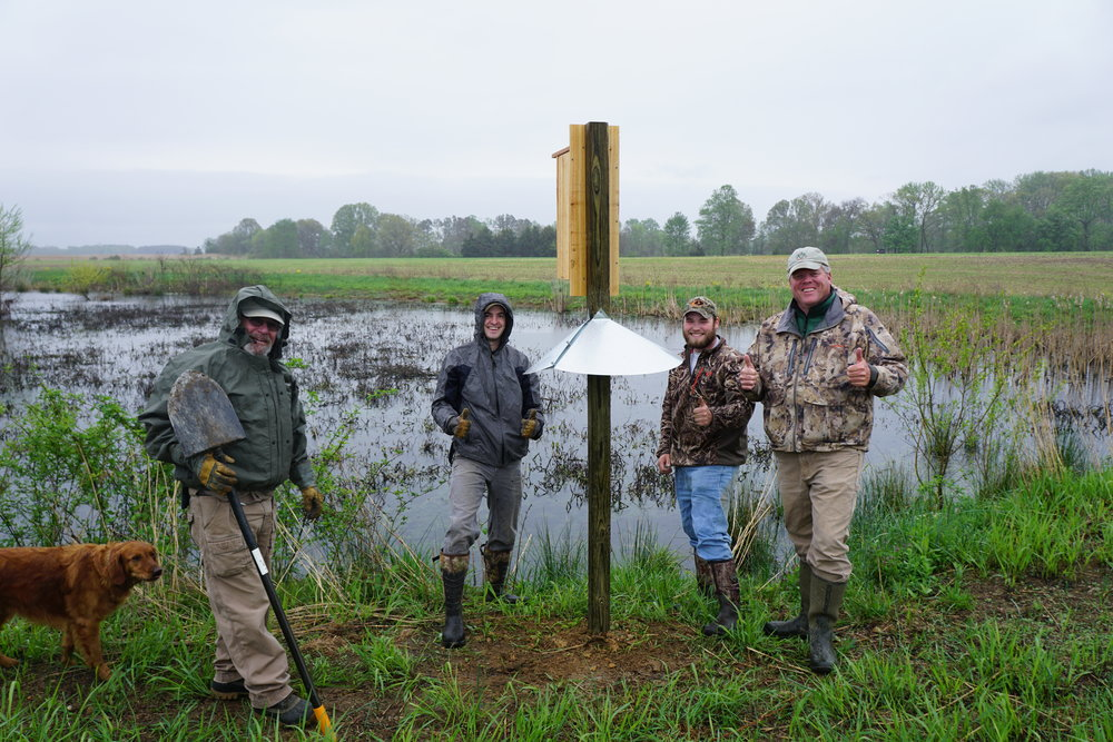 waterfowl festival conservationists.JPG