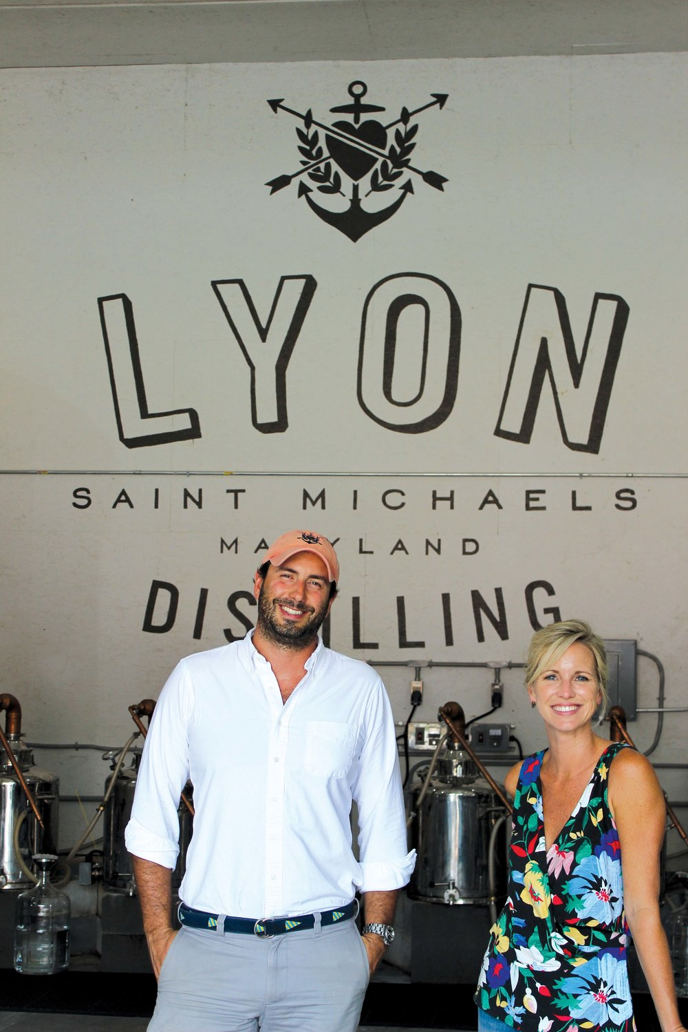 Lyon Distilling Company founders Ben Lyon and Jaime Windon. Photo by Laura Boycourt.