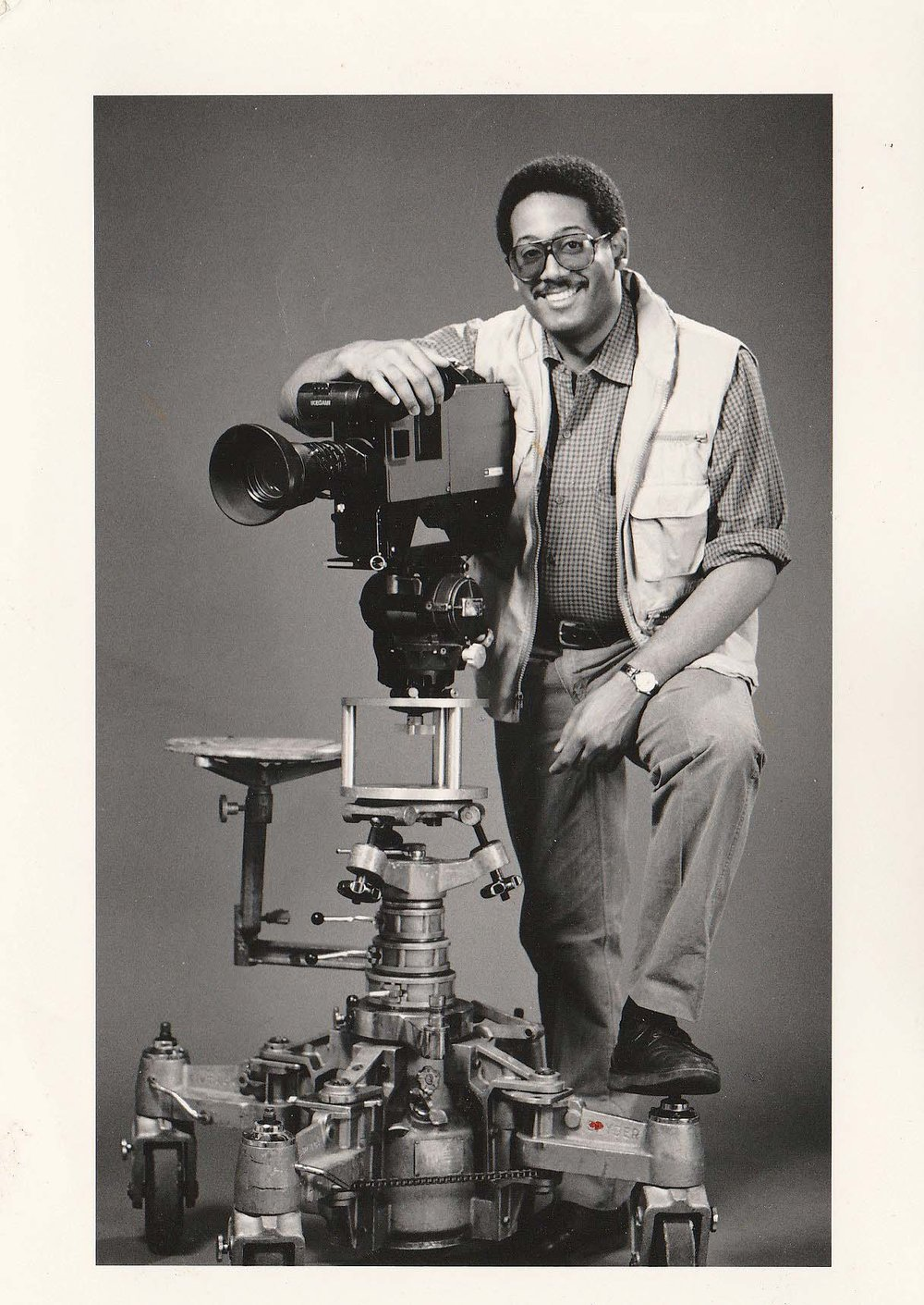 Film producer Tutman 20 years later in a publicity photo. Courtesy of Fred Tutman.