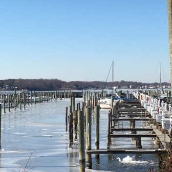 Bowleys Marina on Middle River, photo by Mark Baummer