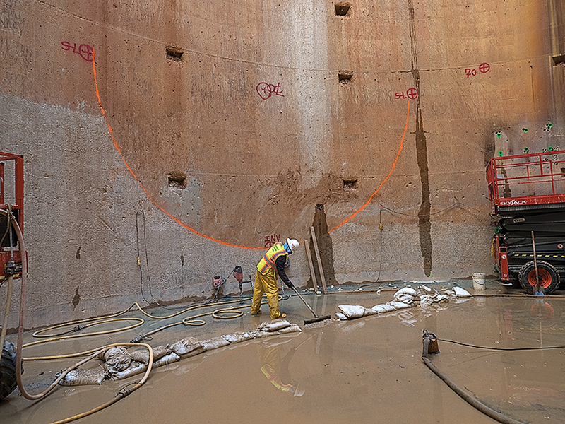 The Anacostia tunnel is the size of a metro rail tunnel. Photo: Dave Harp