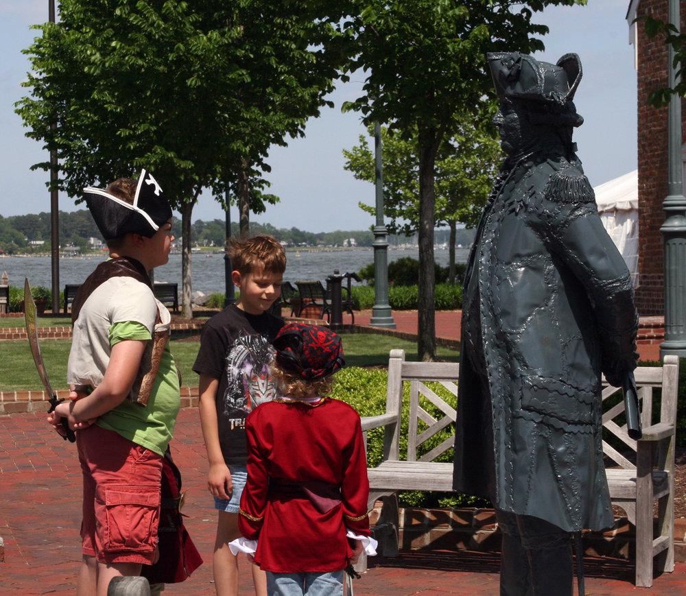 Young pirates at Riverwalk Landing. Photo: York County