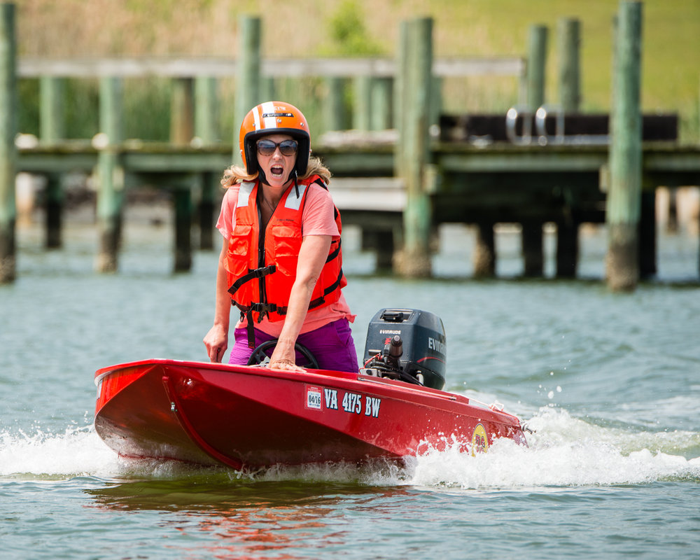Light and maneuverable, the boats can reach speeds up to 28 mph.   Photo by Micki Clay