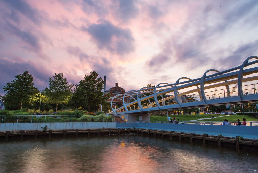 Yards Park on the Anacostia River in Washington D.C . P hoto by Krista Schlyer