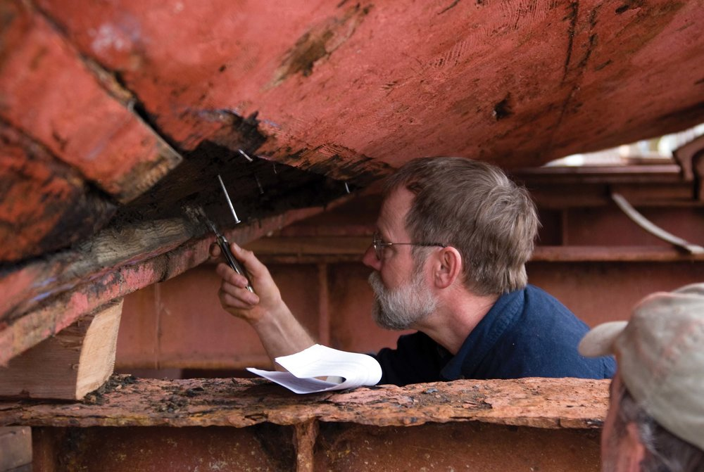 Richard Scofield spent a record 33 years digging wood, shaping planks, caulking, teaching and thriving at the Chesapeake Bay Maritime Museum.