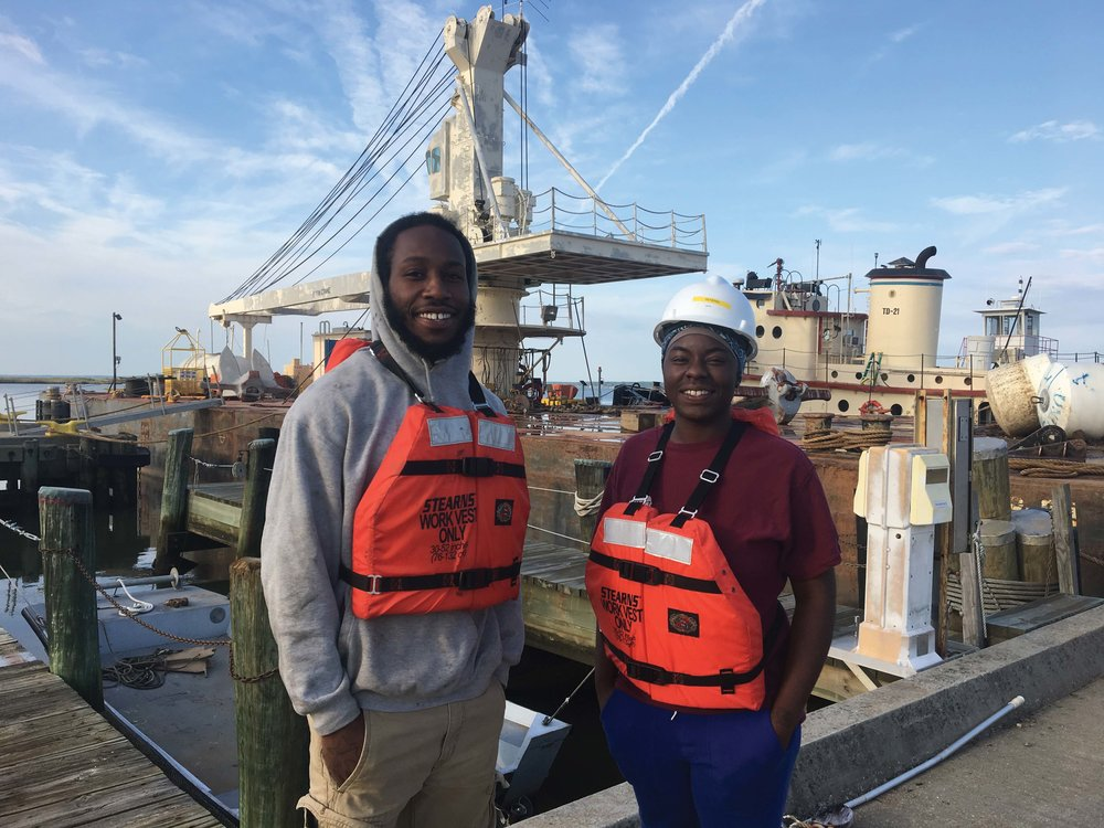 The Mid-Atlantic Maritime Academy, in Norfolk, prepares students for careers on the water.