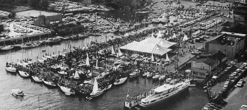 United States Sailboat Show 1973 ( Chesapeake Bay Magazine )