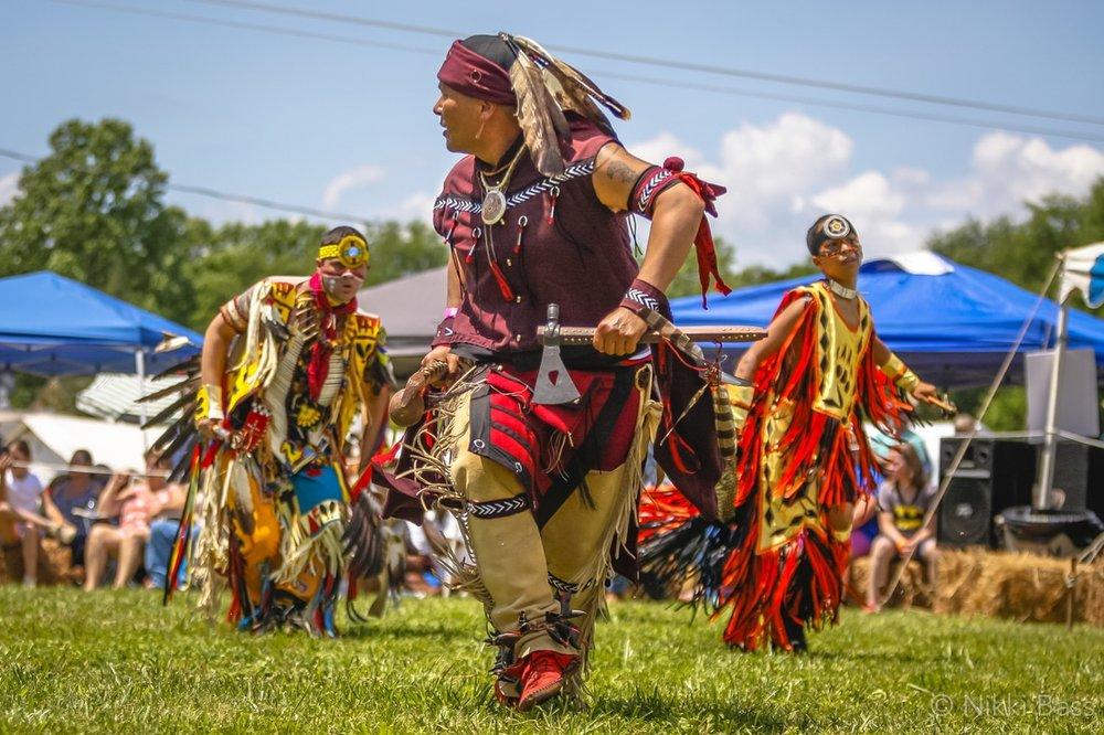The Monacan Indian Nation 2018 Powwow. Photo: Nikki Bass/ monacannation.com