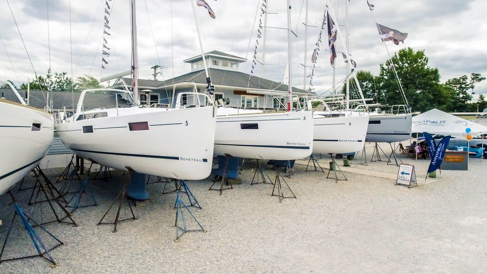 annapolis yacht sales sailboats in yard.jpg