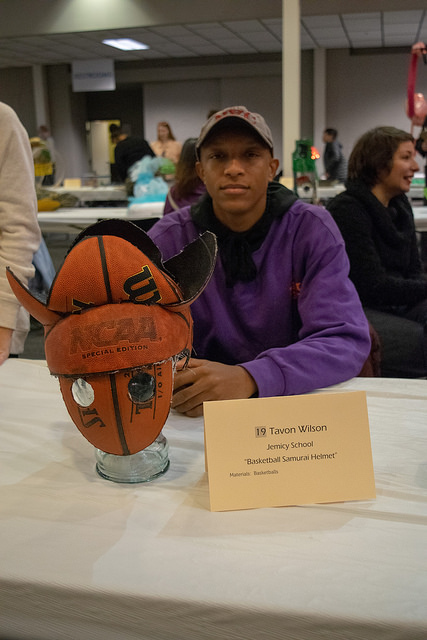 Students from 23 schools across Maryland entered sculptures in the contest.