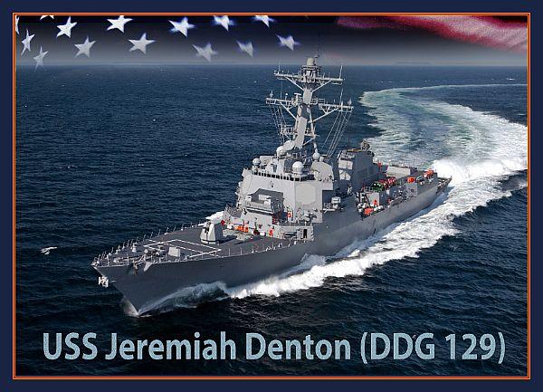 A U.S. Navy rendering of the future USS Jeremiah Denton.