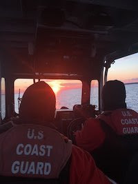 Coast Guardsmen and women did not receive their mid-month paycheck.