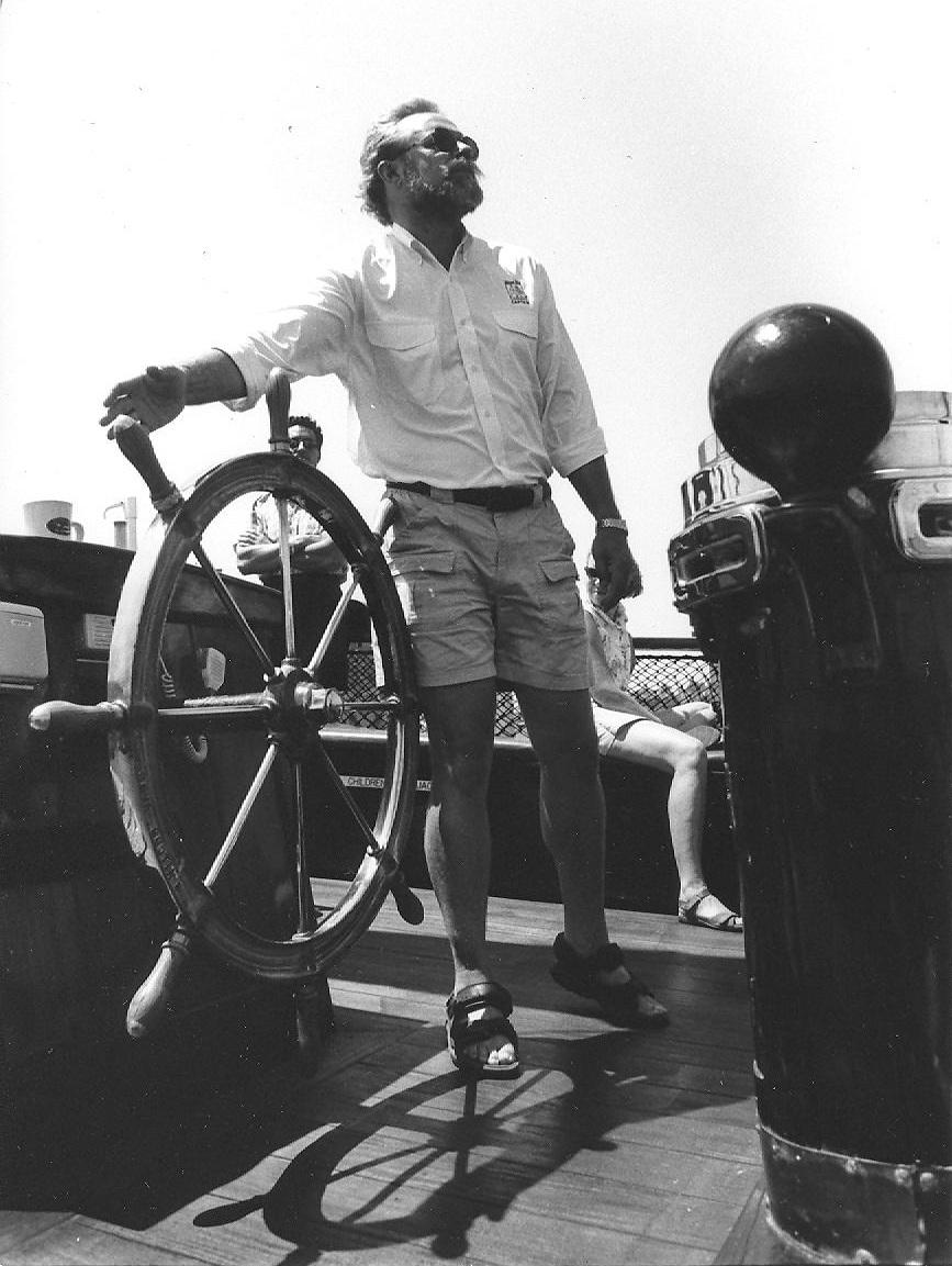 Naval architect Iver Franzen