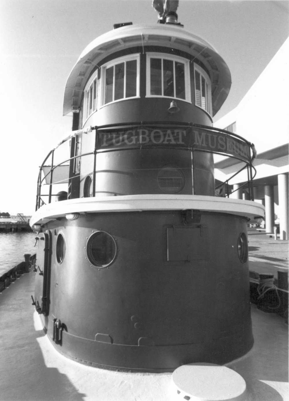 The pilot house as seen in the National Register of Historic Places (now de-listed).