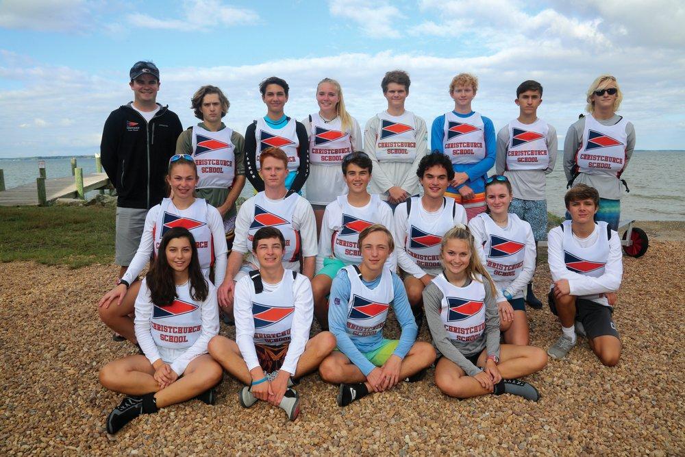 The 2018 Christchurch sailing team