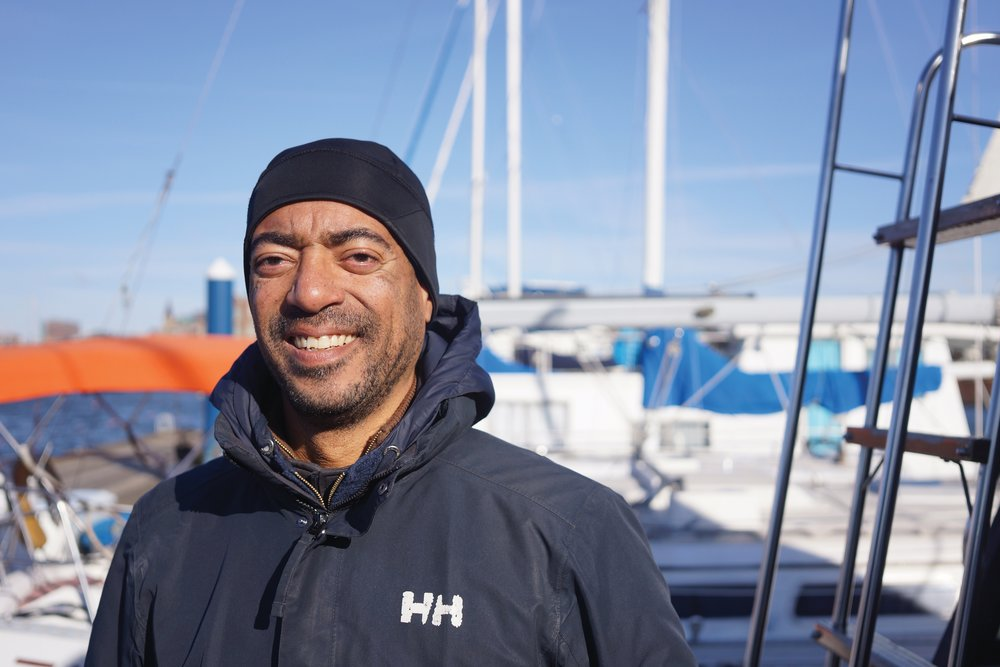 Marcus Asante co-founded the Universal Sailing Club