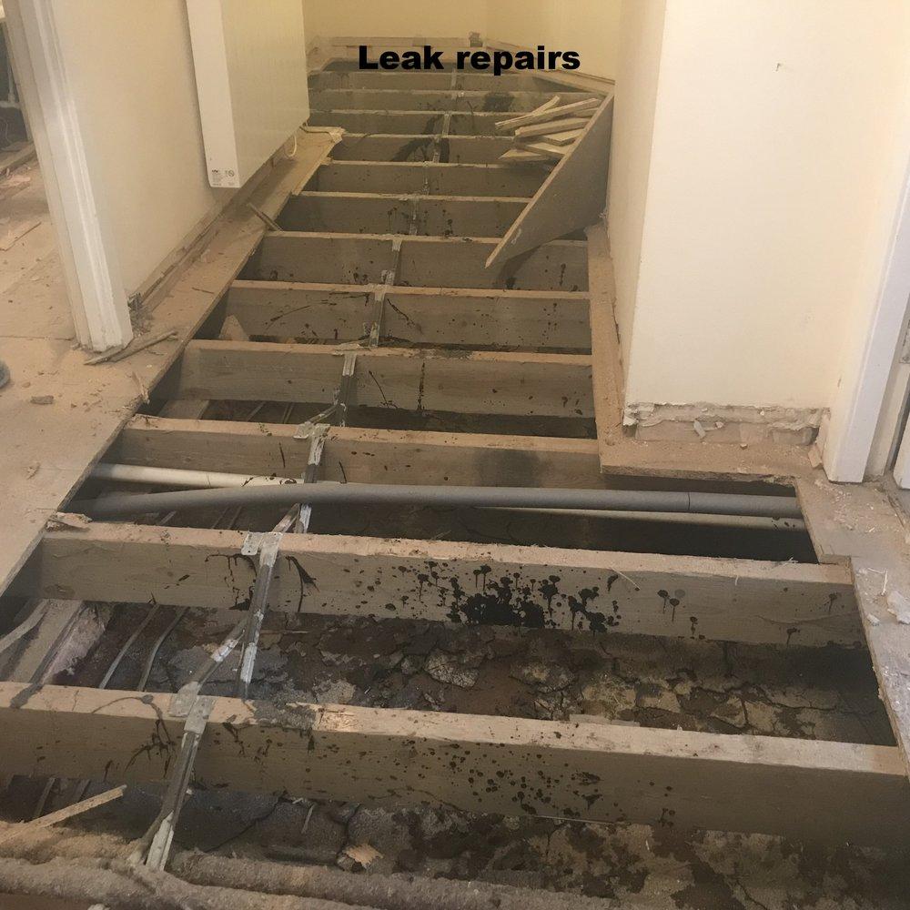 Insurance repair works
