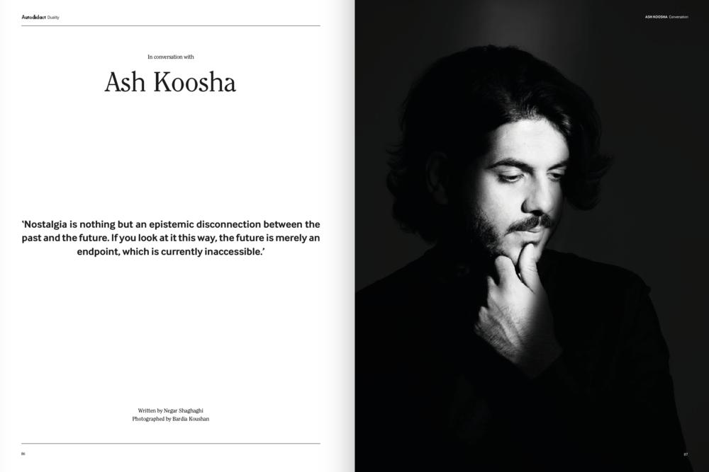 Bardia Koushan Ash Koosha Autodidct Magazine