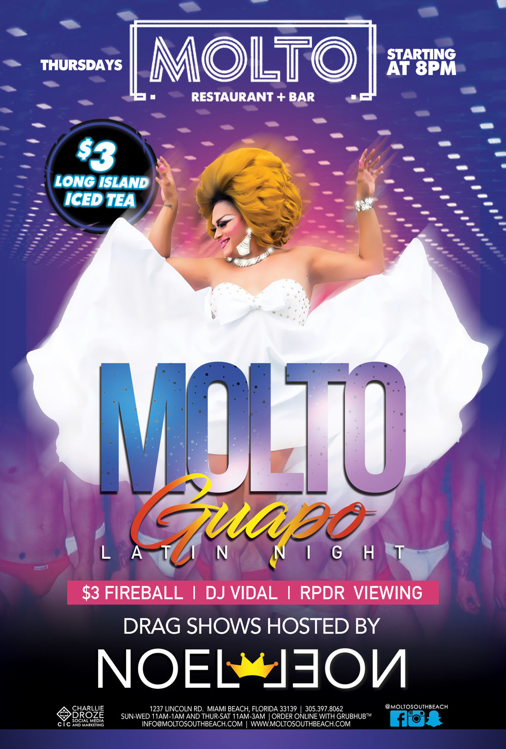 MOLTO GUAPO  - THURSDAYS
