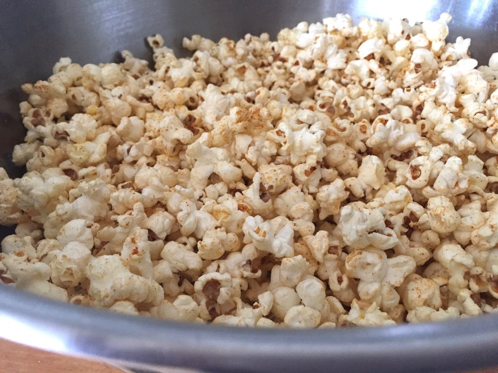 Were you tempted by talk of the delicious Sambar Curry Popcorn at the end of our show? Click Here to get the recipe.
