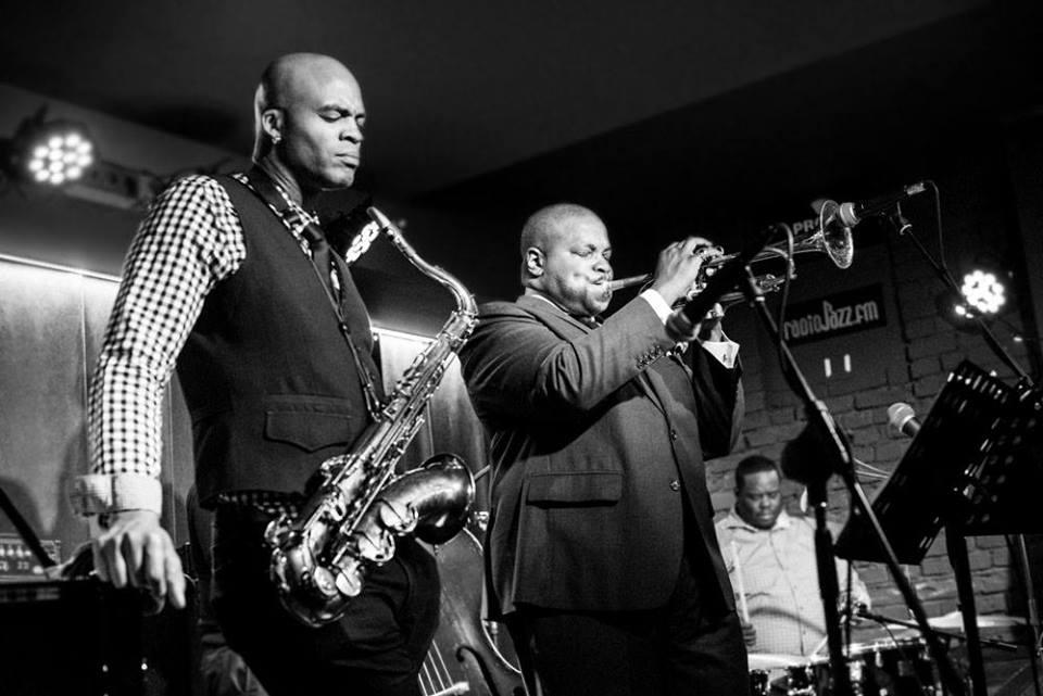 Saxophonist Wayne Escoffery and Trumpeter Jeremy Pelt. Photo credit:Kasia Idzkowska